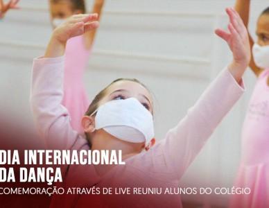 Dia Internacional da Dança é comemorado em live com alunos