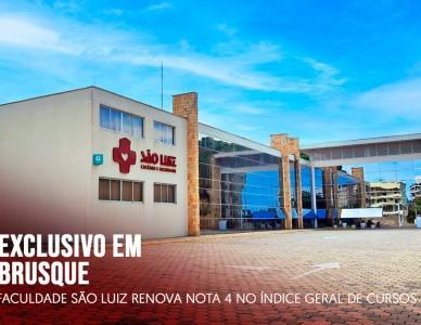 Faculdade São Luiz renova nota 4 no Índice Geral de Cursos