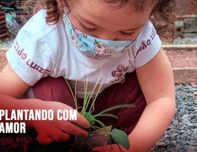 Plantando com amor