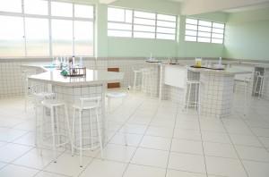 Laboratório de Química, Biologia e Física